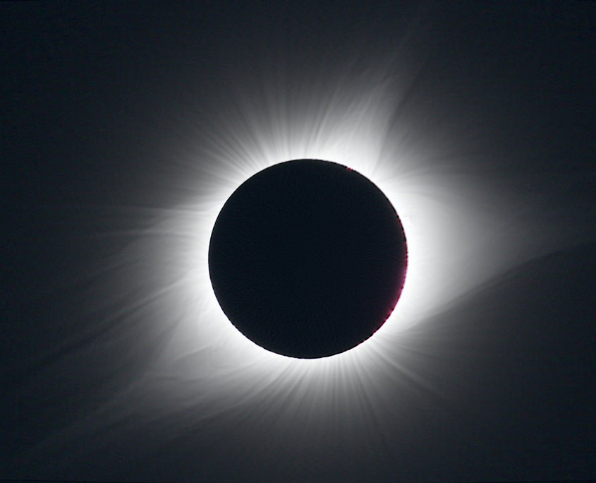 NEU Great American Eclipse: - Korona der totalen Sonnenfinsternis August 2017, Oregon.