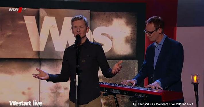 Westart Live | Thomas Hermanns mit Michael Kessler, Walter Sittler, Greta Taubert, u.v.m.