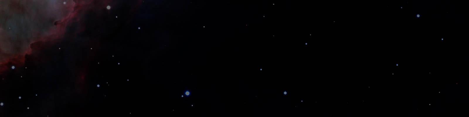 Hintergrund mit Sternenhimmel.