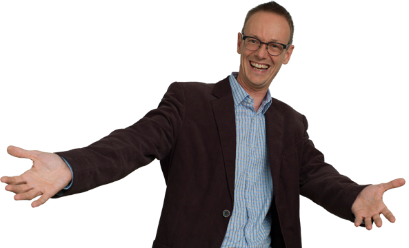 Comedy, Coaching, Workshops, Unternehmensentwicklung kombiniert Comedian, Schauspieler und Musiker Paul Hombach