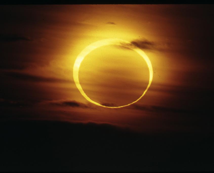 Sonnenfinsternis San Diego, Bild Paul Hombach.